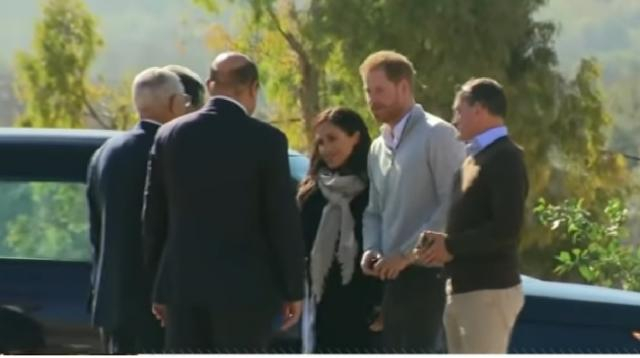Prince Harry and Meghan are heading to Africa this fall. [Image source/Good Morning America YouTube vide]