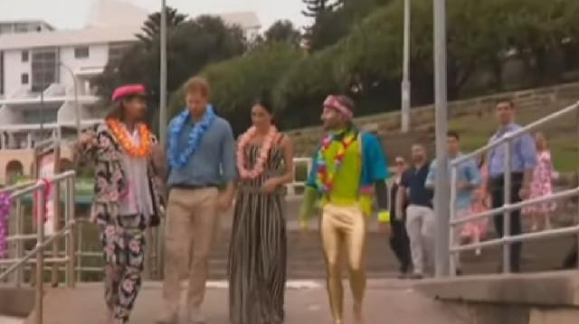 Prince Harry & Meghan Markle share unseen photos from their Botswana trip. [Image source/Access YouTube vide]