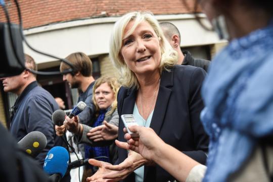 Marine Le Pen déjà en campagne pour la présidentielle de 2022