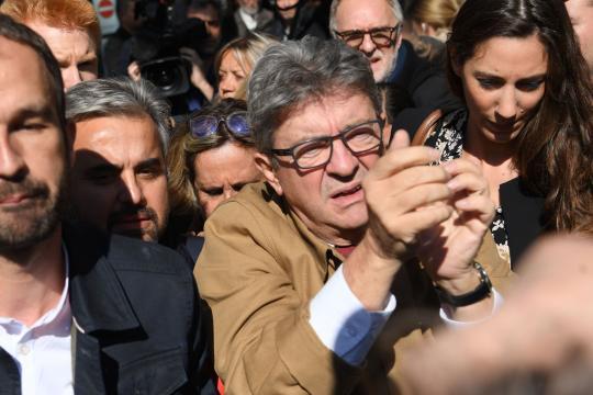 Début sous haute tension du procès de Jean-Luc Mélenchon et de ses ... - parismatch.com