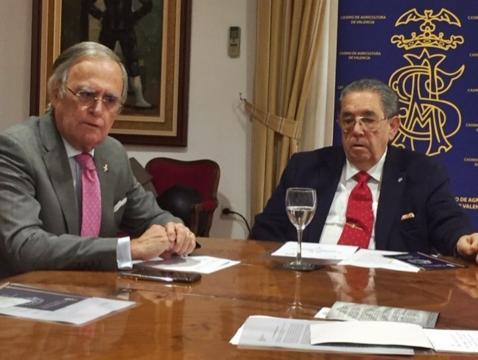 El presidente y el vocal de Cultura de la RSVAD explican las actividades por el 160º aniversario
