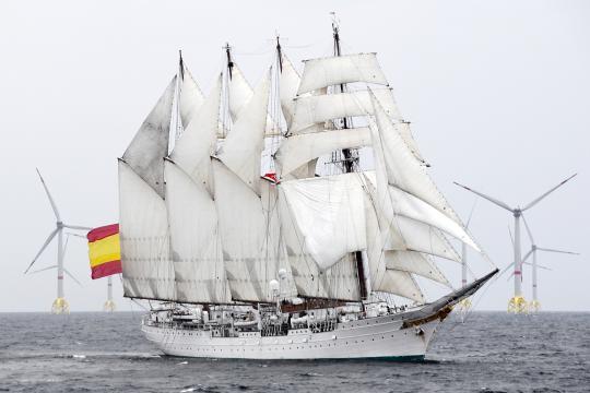 El buque Juan Sebastián Elcano revivirá la primera vuelta al mundo por la ruta original