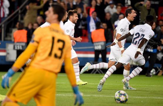El PSG con poco fue muy superior a un triste Madrid. www. standard.co.uk