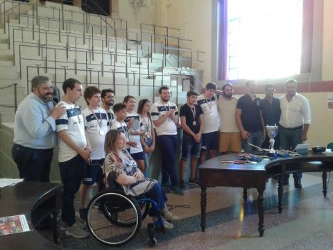 Il gruppo di Vivi Sano Sport a Palermo.