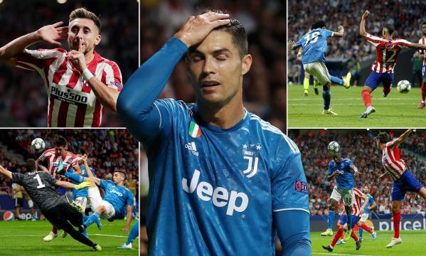 La Juve dejó ir 3 puntos de visita en el partido contra los colchoneros. UEFA.com.