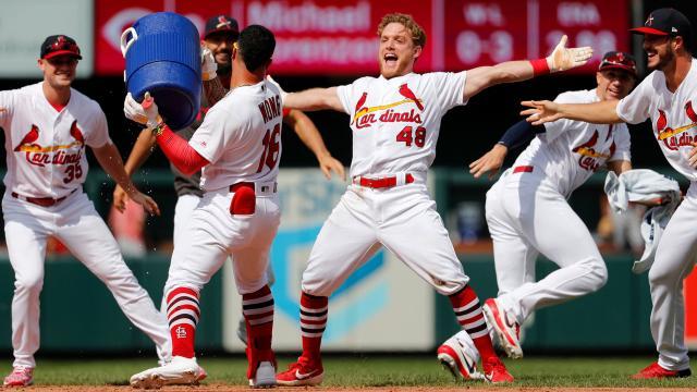 La sangre joven de los Cardinals ha sido importante para Mike Schildt. MLB.com.