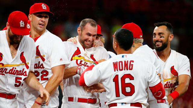 Los Cardinals son un equipo de cuidado en los playoffs de la MLB. - mlb.com.
