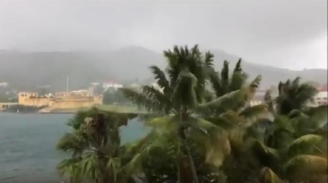 Tropical Storm Karen bears down on Puerto Rico (VİDEO). [Image source/VCN TV YouTube video]