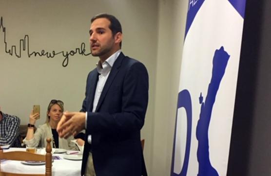 Albert Sarrió, que revalida su candidatura a Secretario General de DV