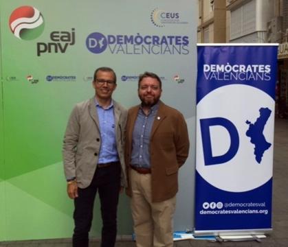 Alfredo García-Petit y Lluís Bertomeu serán los representantes valencianos en el Aldergi Eguna