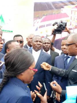 Jean Pierre Amougou Belin PDG du groupe l'Anecdote (c) Darren Ebelle
