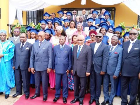 Jen Pierre Amougou Belinga Promoteur de l'Issam et quelques membres du Gouvernement (c) Darren Ebelle