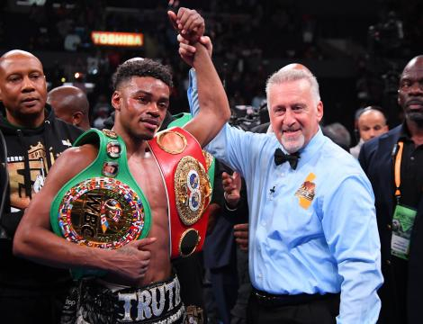 Errol Spence unificó los títulos welter FIB y CMB. www.standard.co.uk