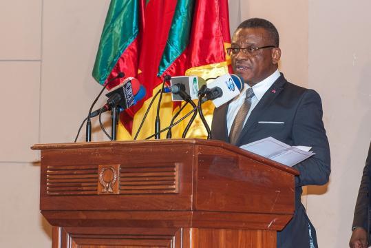 Dion Ngute Premeir ministre du cameroun (c) PRC