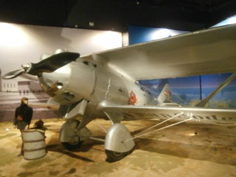 El Jesús del Gran Poder uno de los protagonistas de los vuelos históricos de la aviación española