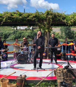 Hebert Neri em concerto com os D'Alma na RTP1