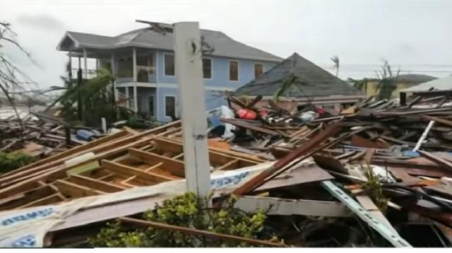 Death toll climbs in Bahamas after Hurricane Dorian. [Image source/ABC News YouTube video]