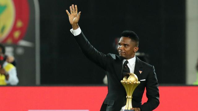 Former Barcelona and Cameroon striker Samuel Eto'o announces ... - yahoo.com
