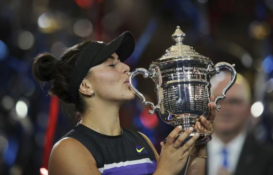 Andreescu dio la campanada en la final femenil del US Open 2019. www.nydaily.nyc