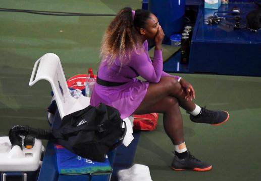 Serena Williams se quedó otra vez corta de empatar el récord de Grand Slams de Court. - www.standard.co.uk