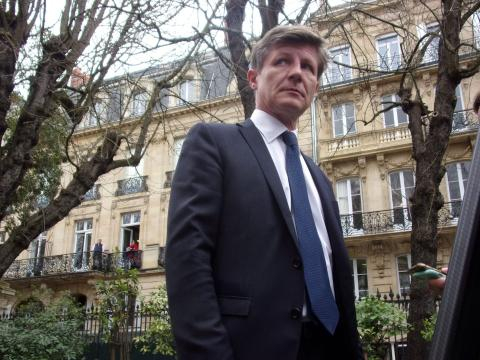 Nicolas Florian, nouveau maire de Bordeaux, un