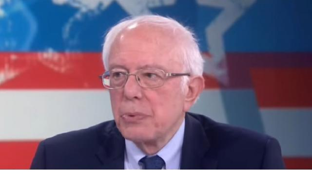 Sanders leads with Warren close behind in new Iowa poll. [Image source/CBS News You Tube video]