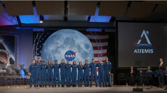 Artemis Generation: Astronaut Graduation Day. [Image source/NASA YouTube video]