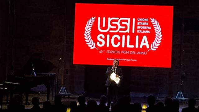 Cerimonia Ussi Sicilia al Teatro Santa Cecilia