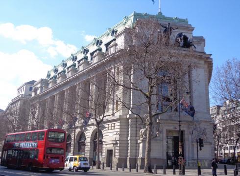 Embajada de Australia, lugar de inspiración para Gringotts