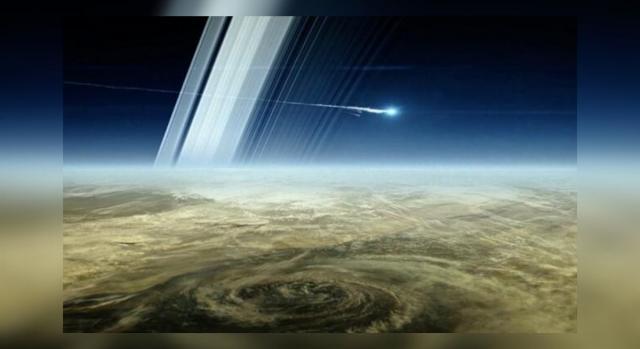 La sonda cassini termina su misión enviando a los expertos unas fotografías (Lancaster University)