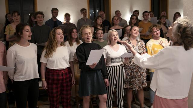 El coro Hamrahlid ofreció sus voces para el proyecto de Björk y Microsoft