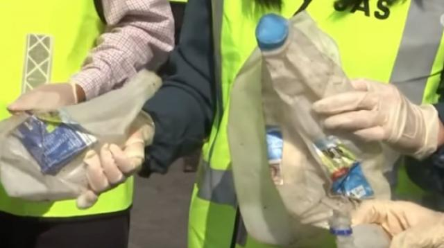 Malaysia to send back imported plastic waste: 'We cannot be bullied.' [Image source/Guardian News YouTube video]