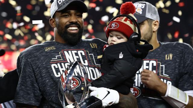 Mostert fue cortado varias veces por otras franquicias en la NFL. www.wric.com