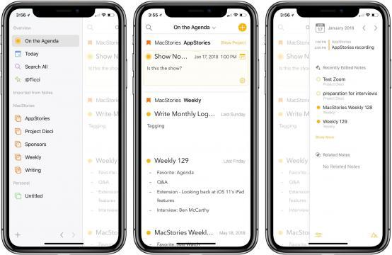 Agenda for iOS Review - MacStories - macstories.net