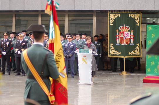 La directora Gámez pronuncia su discurso de apertura