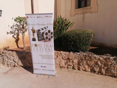 La locandina del 40° Sport Film Festival Palermo.