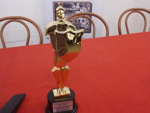 Presentazione 40° Sport Film Festival Palermo, il Paladino d'Oro.