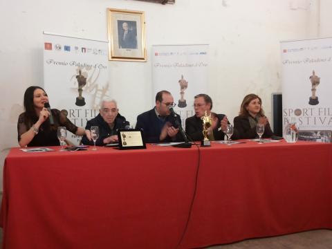 Presentazione 40° Sport Film Festival Palermo, un altro momento della conferenza stampa.