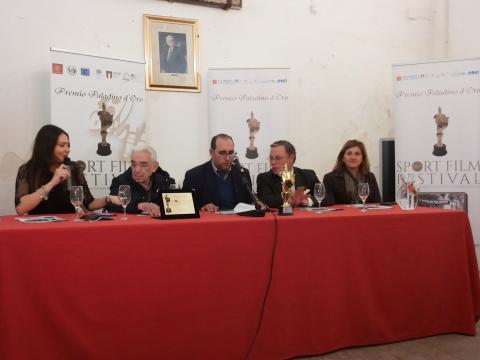 Presentazione del 40° Sport Film Festival a Palermo.