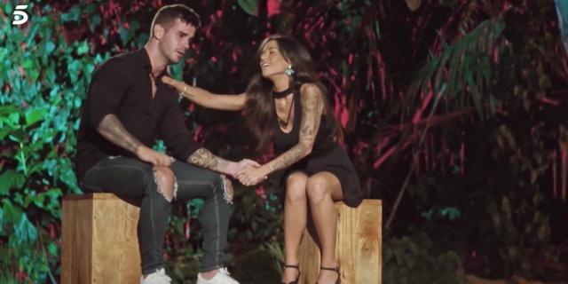 Álex y Fiama se reencuentran en 'La isla de las tentaciones': él ... - bekia.es