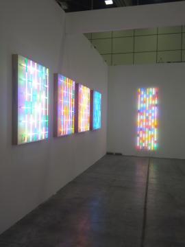 Arte Fiera 2020, installazioni in neon di Albert Hien