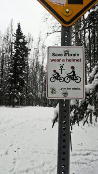 Funny Signage 2, Alaska. [Photo by Anél du Preez]