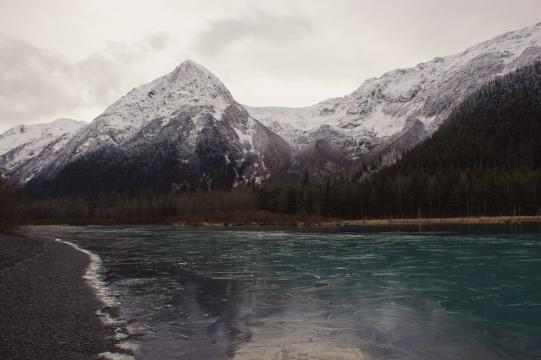 Glacial Waters, Alaska. [Photo by Anél du Preez]