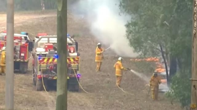 Deaths, losses mounting in Australia's disastrous bush fires. [Image source/Global News YouTube video]