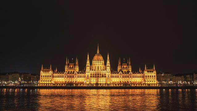 Budapest Parliament at night, Budapest, Hungary. [Image Anél du Preez]