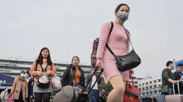 CDC considering travel ban for China due to coronavirus. [Image source/Wochit News YouTube video]