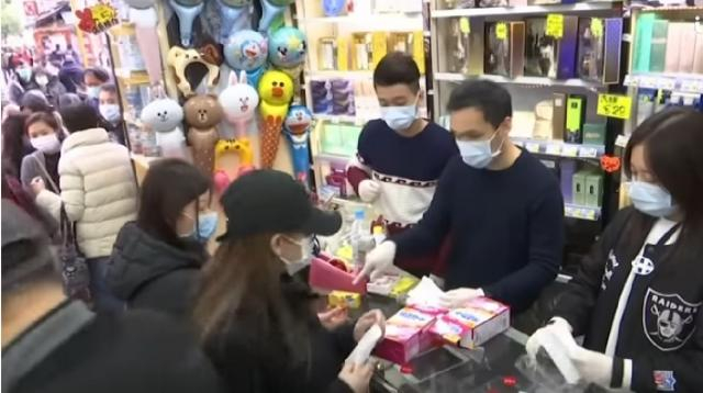 Foreign Office warns against travel to coronavirus-hit China as Britons are set to return. [Image source/ITV News YouTube video]