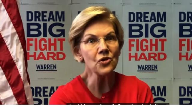 5 things Californians should know about Elizabeth Warren. [Image source/Sacramento Bee YouTube video]