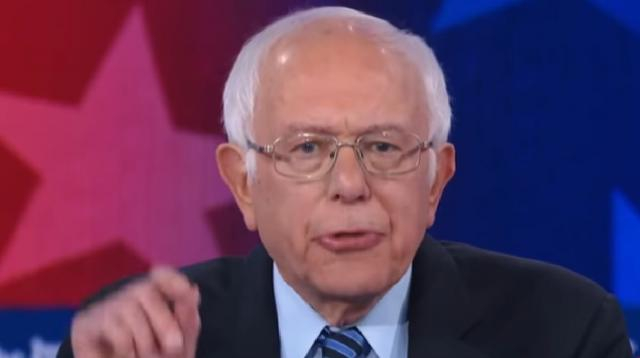 Bernie Sanders: Candidates need to focus on more than Trump to win 2020 election. [Image source/CNBC Television YouTube video]