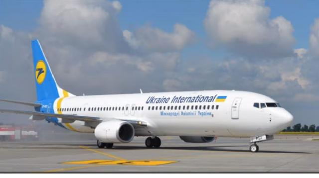 Ukraine Boeing 737 crashes after takeoff in Iran: no survivors. [Image source/Ishrion Aviation YouTube video]